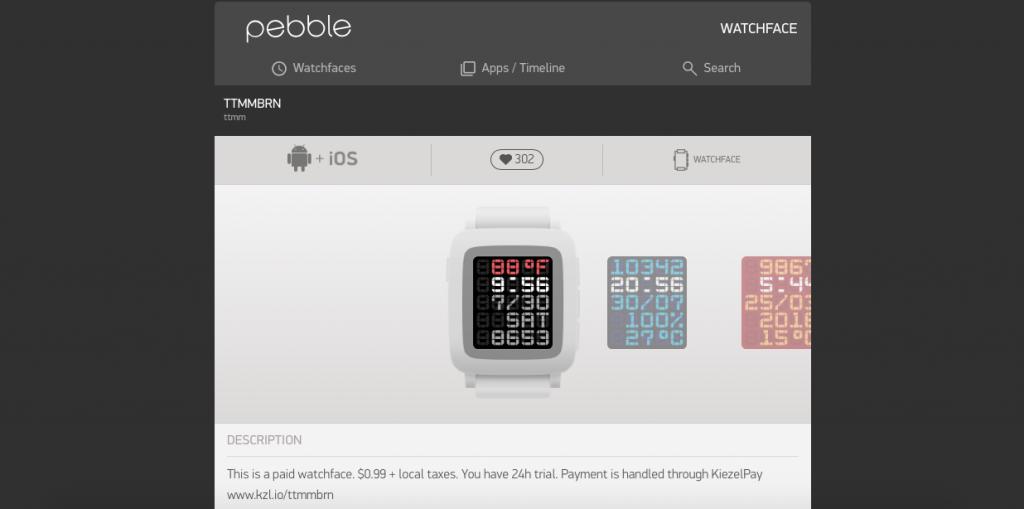 Pebble-Watchface